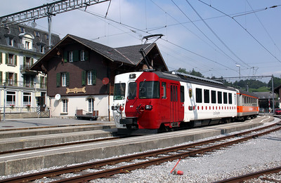 Tpf, 152 at Montbovon on 11th September 2009