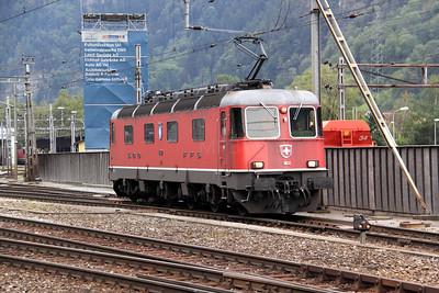 1) 11632 at Erstfeld on 15th September 2009