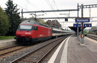 460 083 at Romont on 11th September 2009