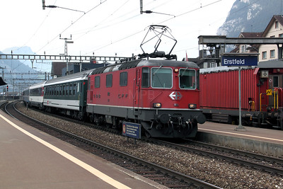 11133 at Erstfeld on 15th September 2009