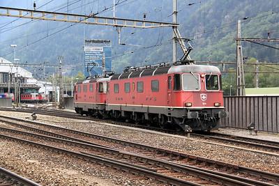 2) 11608 at Erstfeld on 15th September 2009