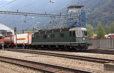 11663 at Erstfeld on 15th September 2009