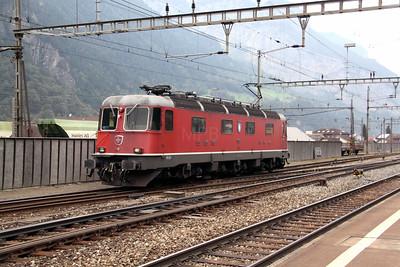2) 11632 at Erstfeld on 15th September 2009