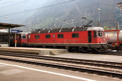 1) 11678 at Erstfeld on 15th September 2009
