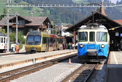 2) MOB, Bt 344 at Zweisimmen on 11th September 2009