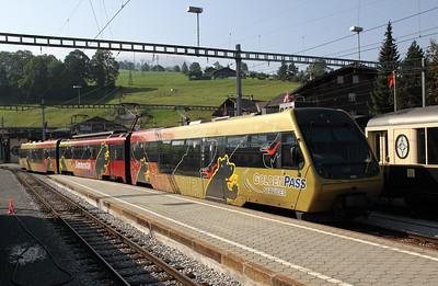 MOB, Bt 244 at Zweisimmen on 11th September 2009