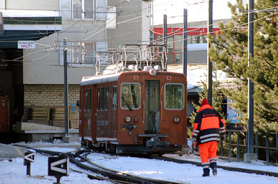 GGB, 3062 at Zermatt on 14th February 2008 (1)