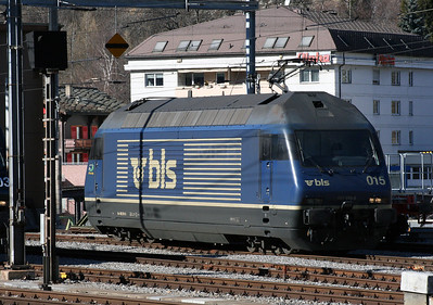 BLS, 465 015_b at Brig on 14th February 2008