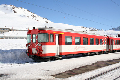 MGB, ABt 4156 at Oberalpass on 15th February 2008 (1)