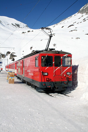 MGB, 91 at Oberalpass on 15th February 2008 (4)