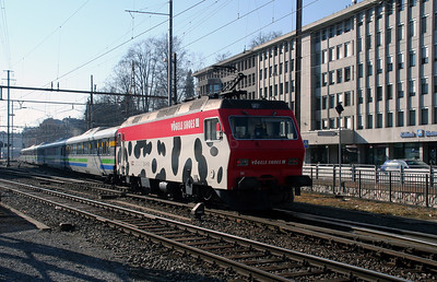 SOB, 456 094 at St Gallen on 17th February 2008