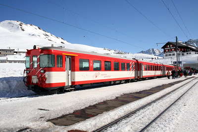 MGB, ABt 4156 at Oberalpass on 15th February 2008 (2)