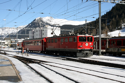 RhB, 701 at Davos Platz on 16th February 2008 (2)