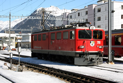 RhB, 701 at Davos Platz on 16th February 2008 (3)