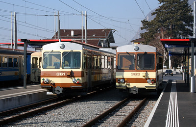 AL, 361 & 363 at Aigle on 13th February 2008