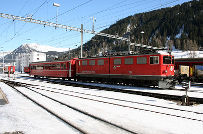 RhB, 701 at Davos Platz on 16th February 2008 (1)