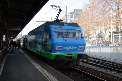 SOB, 456 096 at St Gallen on 17th February 2008