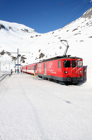 MGB, 91 at Oberalpass on 15th February 2008 (5)