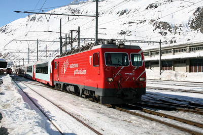 MGB, 101 at Andermatt on 15th February 2008 (3)