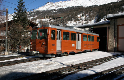 GGB, 3062 at Zermatt on 14th February 2008 (2)