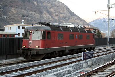 11607 at Visp on 13th February 2008