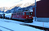 RhB, 706 at Samedan on 18th February 2013
