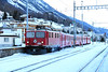 2) RhB, 605 at Samedan on 18th February 2013