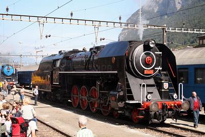 steam, 475 179 at Erstfeld Depot on 8th September 2007