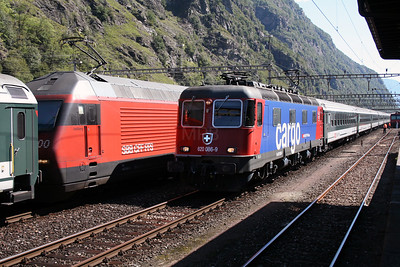 620 086 at Biasca on 8th September 2007 (2)