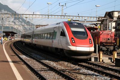 500 108 at Erstfeld on 8th September 2007