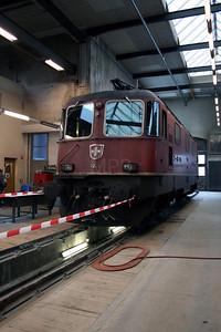 11245 at Erstfeld Depot on 8th September 2007