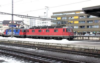 2) 11678 & 420 310 at Rotkreuz on 26th January 2011