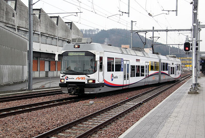 WSB, 36 at Suhr on 19th January 2011 working 128, 1040 Menziken to Aarau