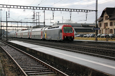 450 034 at Rupperswil on 19th January 2011