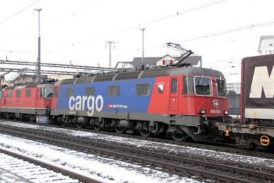 620 069 at Rotkreuz on 26th January 2011
