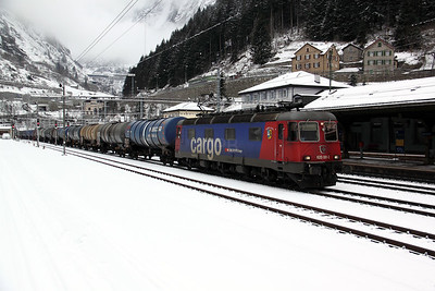 1) 620 061 at Goschenen on 20th January 2011