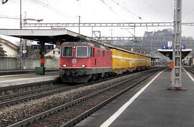 11266 at Lenzburg on 19th January 2011