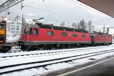 2) 11621 at Arth Goldau on 21st January 2011