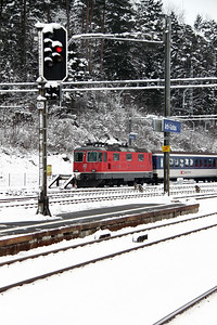 11138 at Arth Goldau on 22nd January 2011