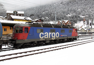 2) 620 061 at Goschenen on 20th January 2011
