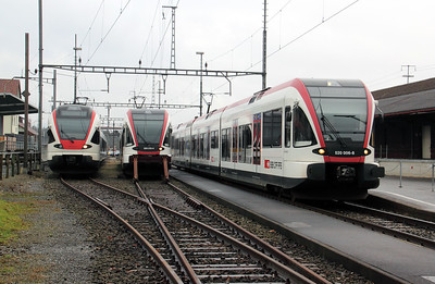 520`s at Lenzburg on 19th January 2011