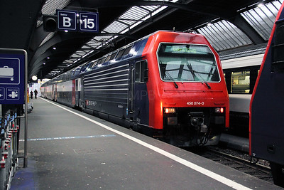 450 074 at Zurich HB on 19th January 2011