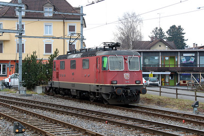 11255 at St. Margrethen on 16th January 2014