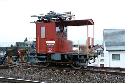 2) SOB, 216 039 at Schindellegi Feusisberg on 17th January 2014