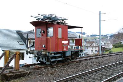 3) SOB, 216 039 at Schindellegi Feusisberg on 17th January 2014
