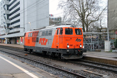 RTS, 2143 077 (92 81 2143 077-3 A-RTS) at Zurich Altstetten on 17th January 2014