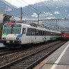 1) SOB, 561 082 at Arth Goldau on 17th January 2014