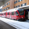 RhB, 3510 at Davos Platz on 19th January 2014 working 1820