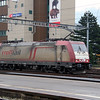 2) Crossrail, 185 602 (91 80 6185 602-0 D-XRAIL) at Arth Goldau on 17th January 2014
