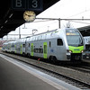 2) BLS, 515 013 at Thun on 21st January 2014